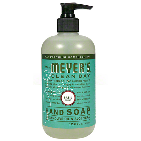 Mrs. Meyer's Clean Day Hand Soap - 12.5 oz., Basil