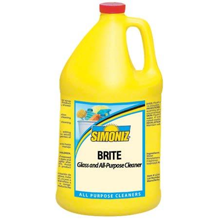 Simoniz® Brite Glass & All-Purpose Cleaner - Gal.