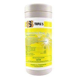 SSS® Disinfecting Cleaning Wipes - 75 ct.
