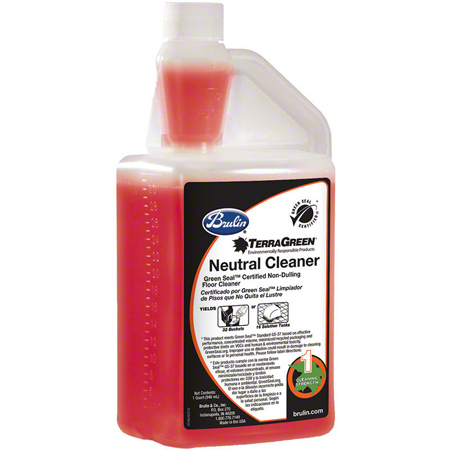 Brulin® TerraGreen Neutral Cleaner - 32 oz. Canteen