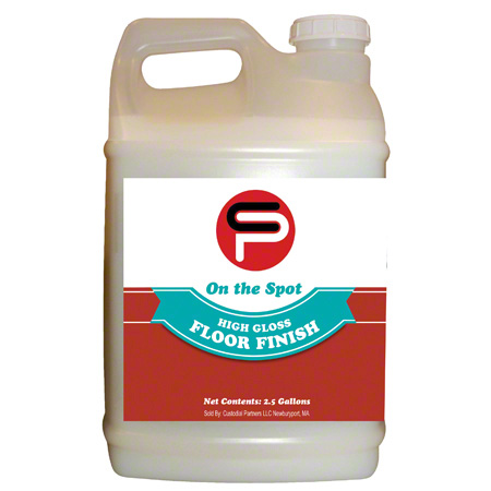 CP High Gloss Floor Finish - 2.5 Gal.