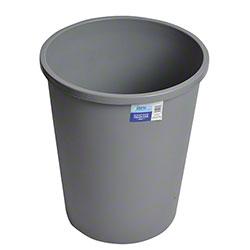 Janico Round Garbage Can - 49 Qt., Grey