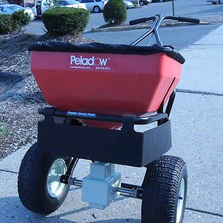 Push Spreader w/3-Sided Deflector - 70-75 lb.