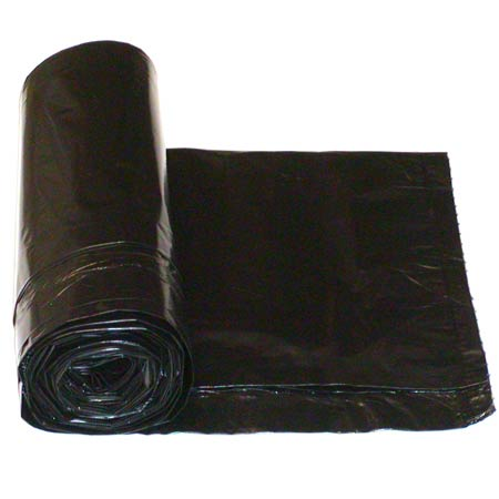 Berry Low Density Can Liner - 38 x 57, 1.3 mil, Black