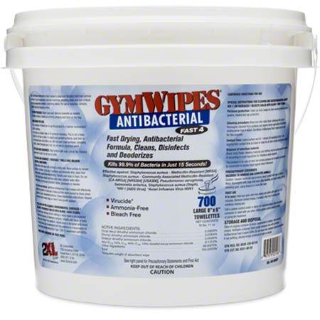 2XL Corp GymWipes Antibacterial Bucket - 700 ct.