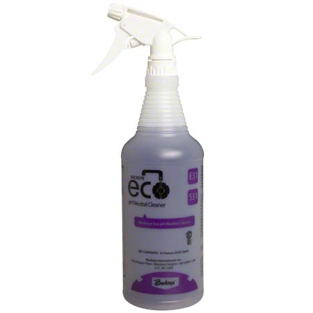 Buckeye® Eco® E31 pH Neutral Cleaner Bottle & Trigger