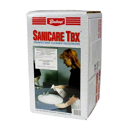 Buckeye® Sanicare TBX™ Cleaner/Disinfectant -5 Gal. Box
