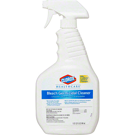 Clorox® Healthcare® Bleach Germicidal Cleaner - 32 oz.