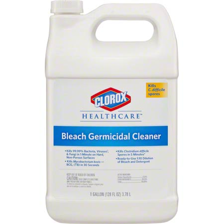 Clorox® Healthcare® Bleach Germicidal Cleaner - 128 oz.