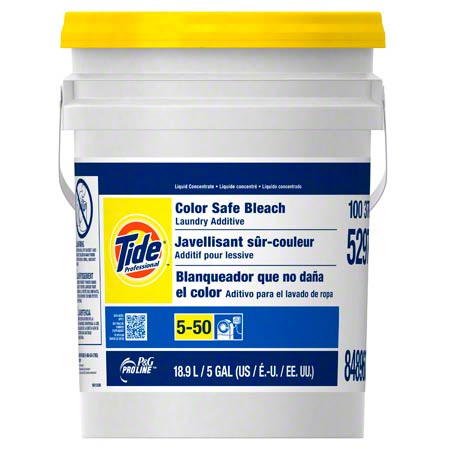 Pro Line® Tide® Professional Color Safe Bleach - 5 Gal.