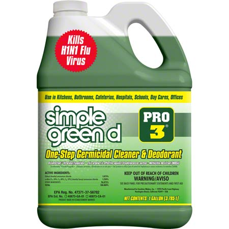 Simple Green® D Pro 3 Germicidal Cleaner - Gal.