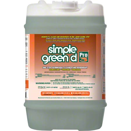 Simple Green® D Pro 3 Germicidal Cleaner - 5 Gal.