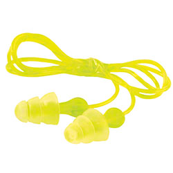 3M™ Tri-Flange™ Corded Earplugs P3000