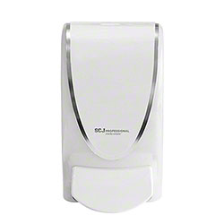 SCJP ProLine Curve Manual Dispenser - 1 L,  White/Chrome