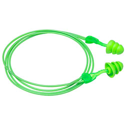 Moldex® Glide® Trio Twist-In Earplugs w/Cord
