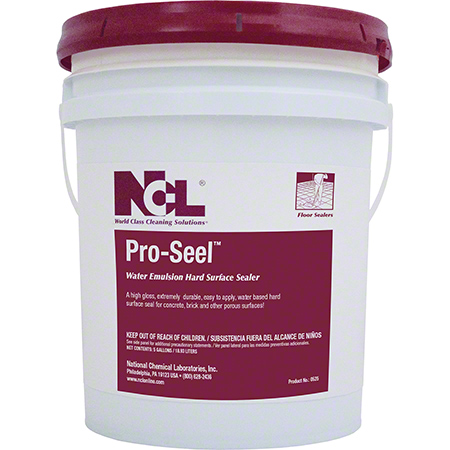 NCL® Pro-Seel Water Emulsion Hard Surface Sealer - 5 Gal.