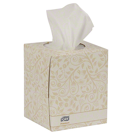 Tork® Premium Facial Tissue Cube Box - 94 ct.