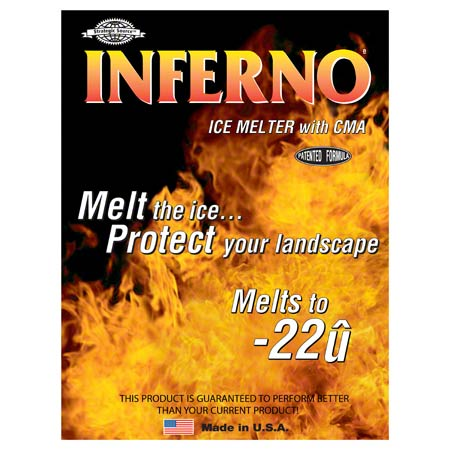 Inferno Ice Melt - 50 lb. Bag