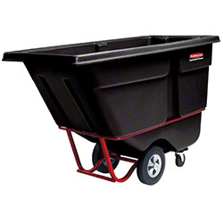 Rubbermaid® 1/2 cu yd. Tilt Truck - Heavy Duty, Black