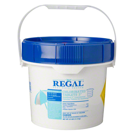 "Regal® 3"" Chlorinated Tablets - 50 lb."