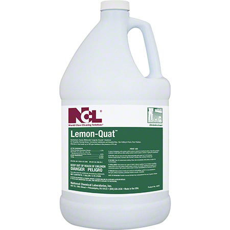 NCL® Lemon Quat Disinfectant Cleaner - Gal.