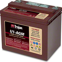 Trojan® U1-AGM 12V Deep-Cycle AGM Battery