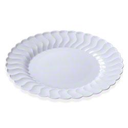 """Fineline Settings Flairware™ Plate - 10.25"""" Dinner, White"""