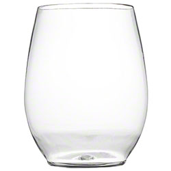 Fineline Settings Renaissance Clear Stemless Goblet - 12 oz.