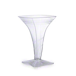 Fineline Settings Tiny Tempts Tiny Square Martini Glass