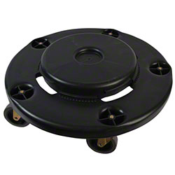 Janico Black Garbage Can Dolly w/Bolted Casters