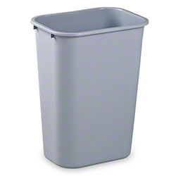 Janico Rectangular Garbage Can - 37 Qt., Grey