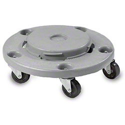 Janico Grey Garbage Can Dolly w/Bolted Casters