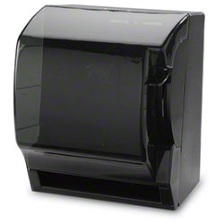 Janico Push Down Lever Paper Towel Dispenser - Smoke/Black