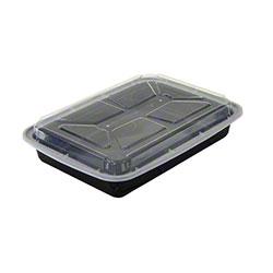 NEWSPRING® VERSAtainer® Rectangular Black Containers