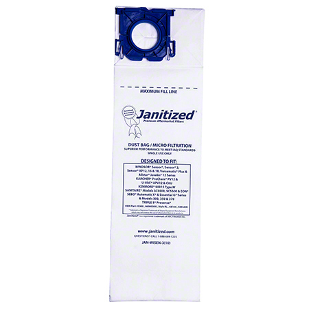 Janitized® Filter Bag For Vacuums
