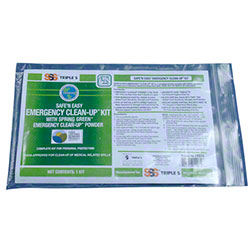 SSS® Safe 'N Easy Emergency Clean Up Kit