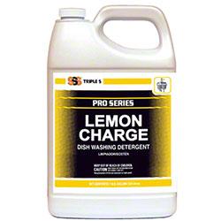 SSS® Lemon Charge Dish Washing Detergent - Gal.