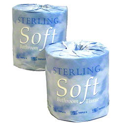 SSS® Sterling Embossed Bathroom Tissue