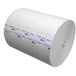 "SSS® Sterling Select™ 10"" Hardwound Roll Towel - White"