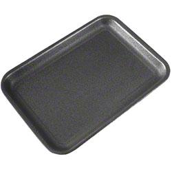 CKF Foam Meat Tray - 2S, Black