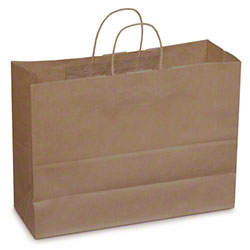 Duro Dubl Life® Carryout Shopping Bag - Tote, 65 lb. BW