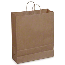 Duro Dubl Life® Carryout Shopping Bag - Towner, 65 lb. BW