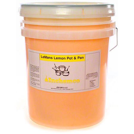 Inchemco F-515 LeMans Lemon Pot & Pan Detergent - 5 Gal.