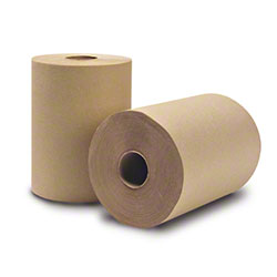 "WausauPaper® EcoSoft™ Roll Towel - 8"" x 425', Natural"