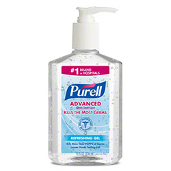 GOJO® Purell® Advanced Hand Sanitizer Gel - 8 oz.
