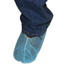 Impact® Blue Disposable Shoe Cover - Large