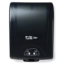 PRO-LINK® Elite™ Hands-Free Roll Towel Dispenser -Black