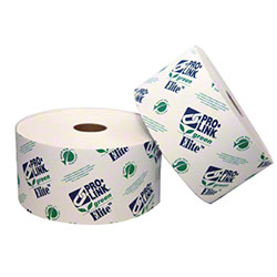"PRO-LINK® Green Elite 2 Ply Tissue - 3 3/4"" x 3 1/2"""