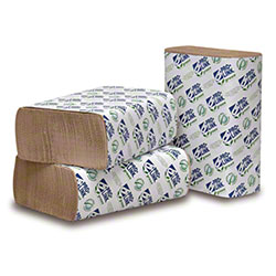 PRO-LINK® Green Certified Multifold Paper Towels - Natural