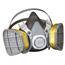3M™ 5303 Organic Vapor/Acid Gas Respirator Assembly - LG